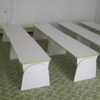 Лавки, скамейки для детского сада
