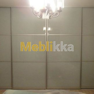 шкаф-купе, мебель на заказ, крашеное стекло, Meblikka