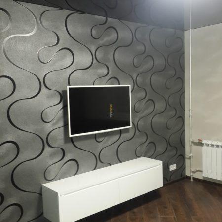 Тумба под ТВ навесная белая