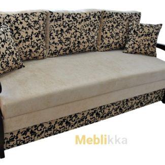 Недорого Ремонт , перетяжка, реставрация углового дивана с деревянного подлокотниками в Харькове