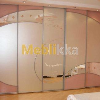 Замена большого зеркала шкафа, шкафа-купе Харьков. Ремонт шкафа