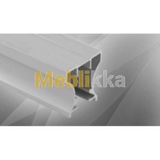 Профиль вертикальный Lux (Люкс) 2750 раздвижная система Komandor для шкафа Харьков