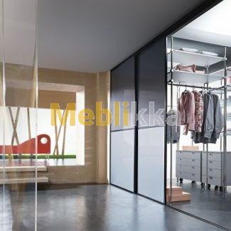 Профиль вертикальный Lux (Люкс) 2550раздвижная система Komandor для шкафа Харьков