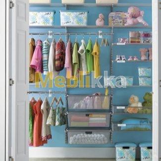 Гардеробная система ELFA для детской Харьков купить